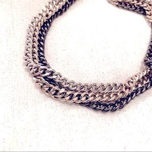 🍒2/20$ Triple chain tricolour necklace